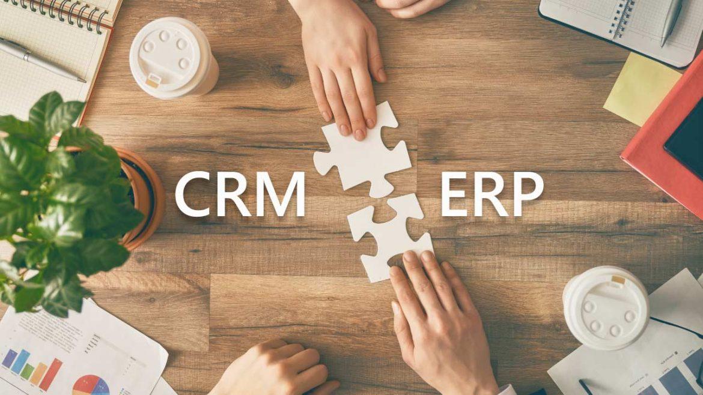 Integrações CRM e ERP